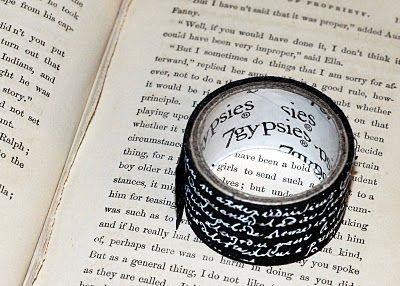 o great idea for repurposing old books into personal journals