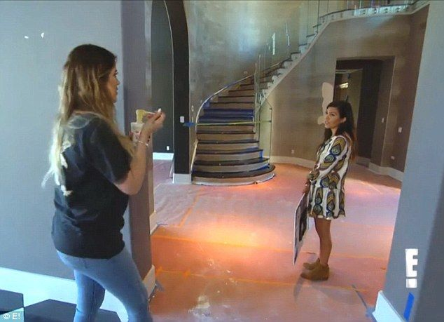 Khloe Kardashian House Stairs   Google Search