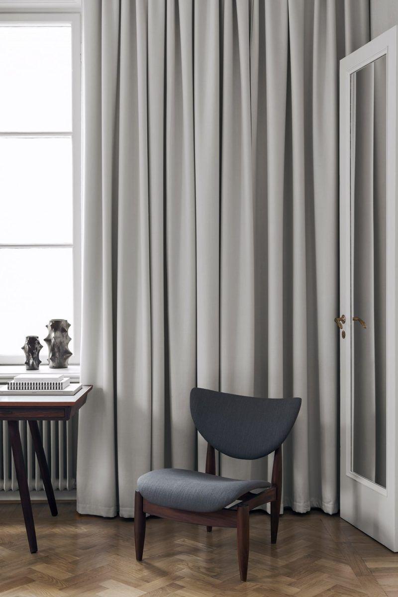 Swedish Minimalist Interior By Liljencrantz Design Design Visual Interior Home Decor Interior Design Curtains