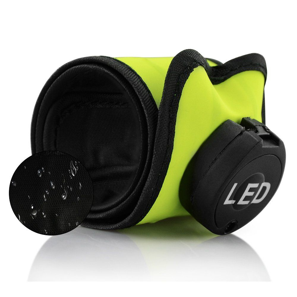 CestMall Waterproof USB Rechargeable LED Sports Armband with 22 Led