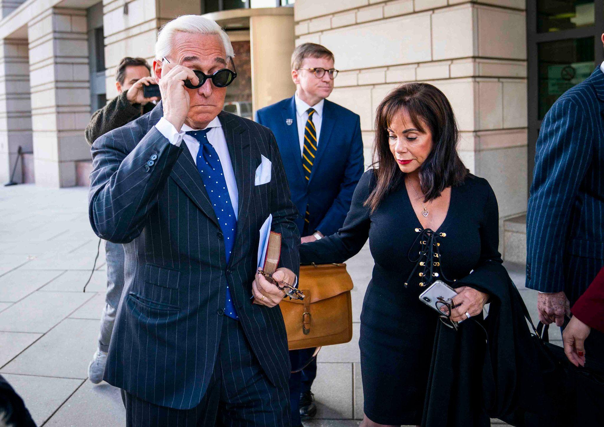 Prosecutors Quit Roger Stone Case After Justice Dept