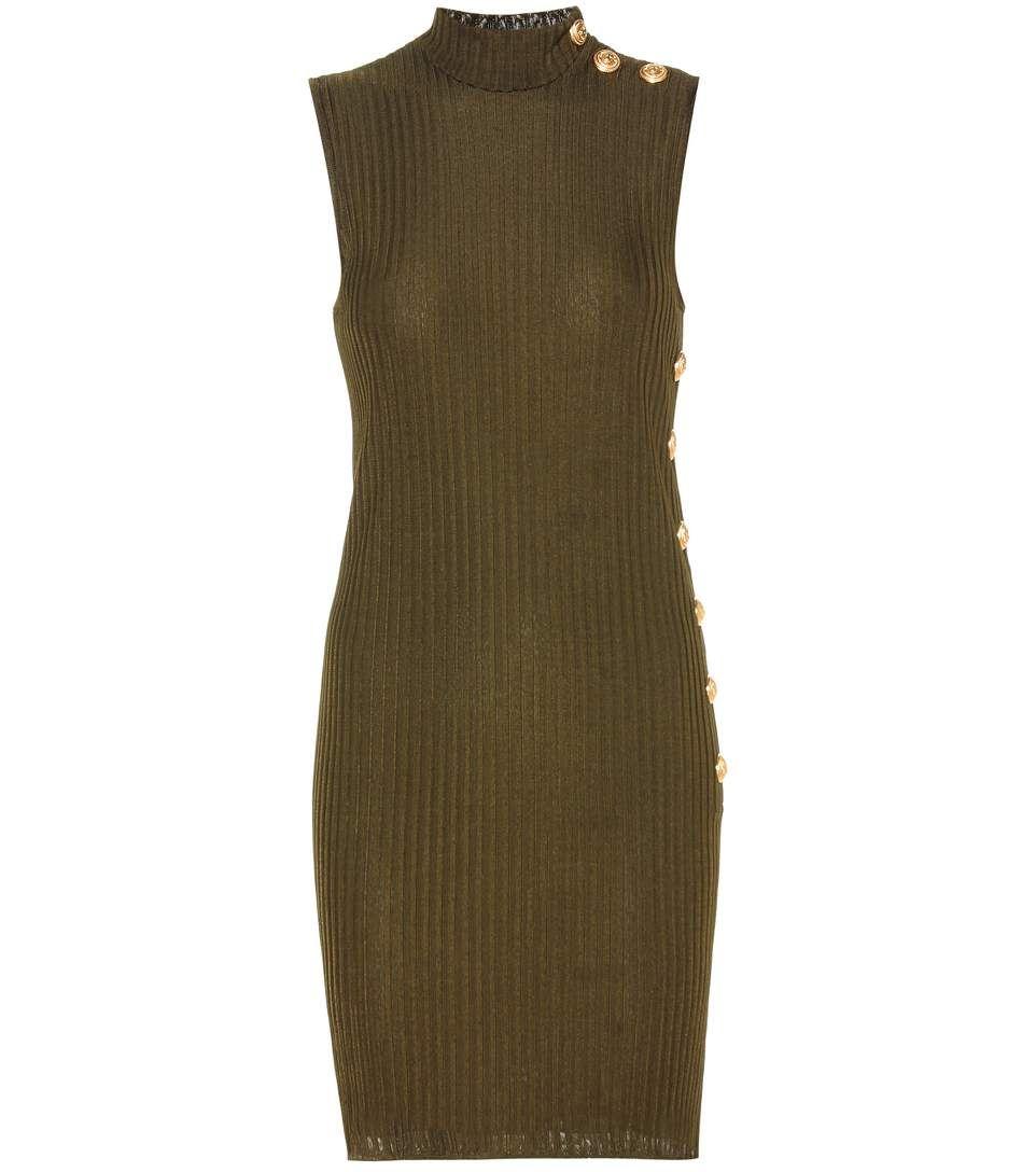 BALMAIN Embellished dress. #balmain #cloth #dresses