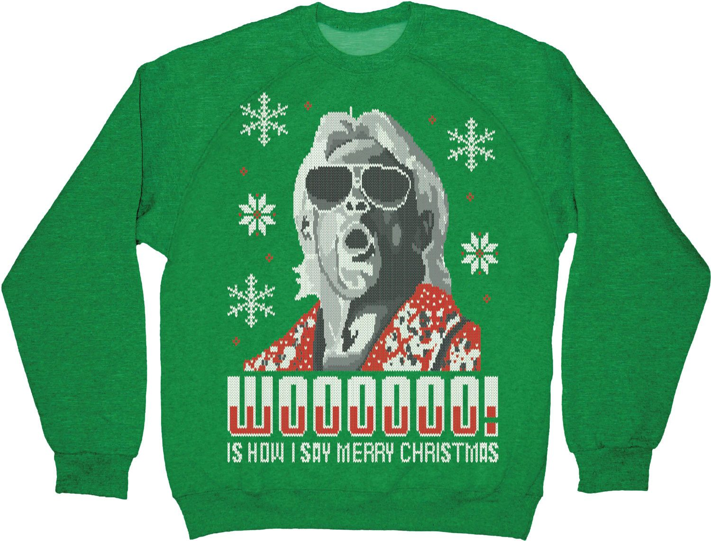 Ric Flair Christmas Sweatshirt New Mens T Shirts From 80steescom