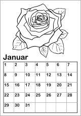 malkalender-vorlagen - kinderkalender alle jahre online ausdrucken basteln | kalender für kinder