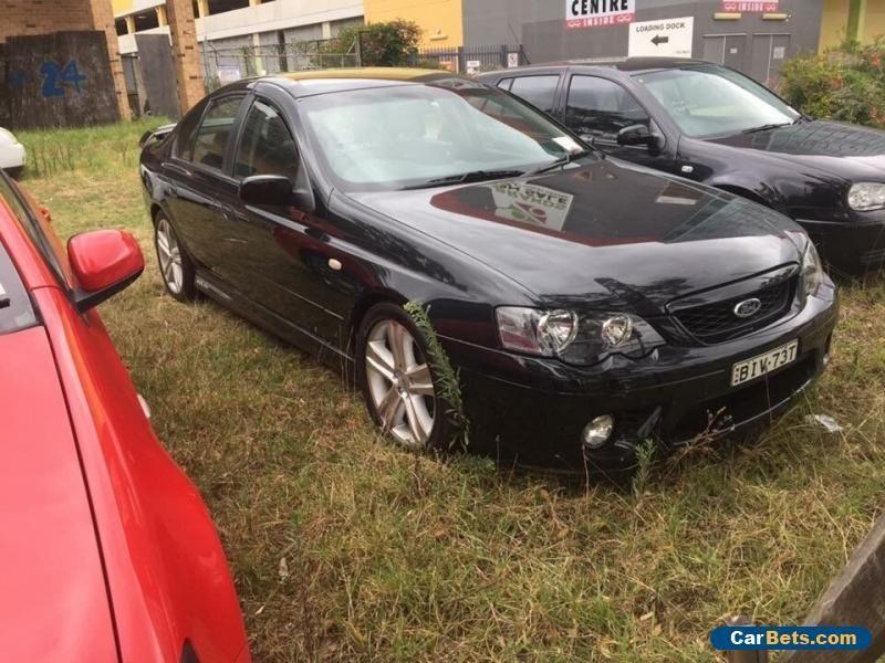 Ford Falcon Bf Mkii Black Automatic A Sedan Ford
