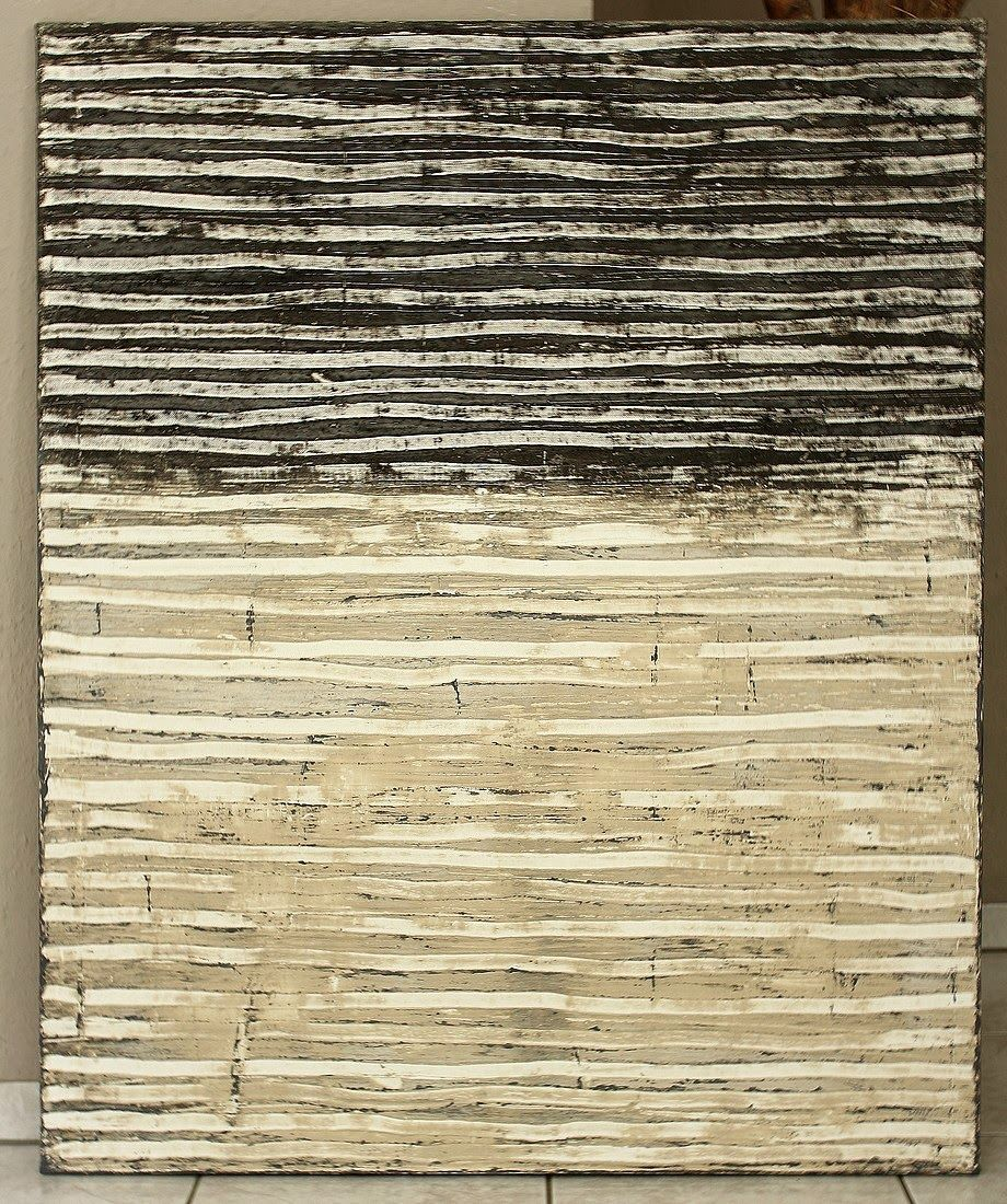 'contrasted lines' (2014) by German artist Christian Hetzel. Mixed media on canvas, 110 x 90 cm. ty, art propelled. via the artist's site                                                                                                                                                                                 Mehr