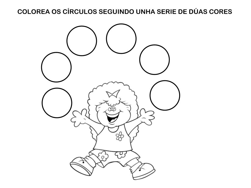 Encantador Círculo Para Colorear Página Imágenes - Ideas Para ...