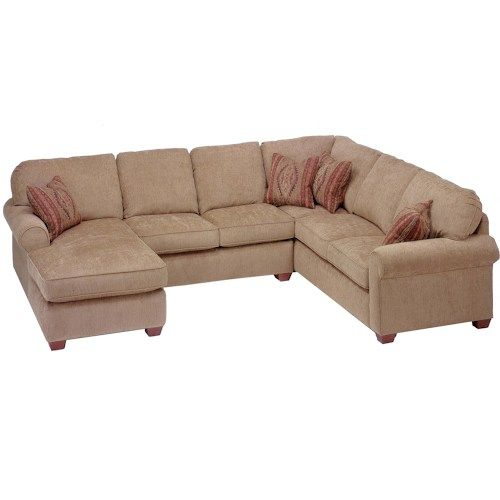 Pleasing Flexsteel Thornton 3 Piece Sectional With Chaise Small Machost Co Dining Chair Design Ideas Machostcouk