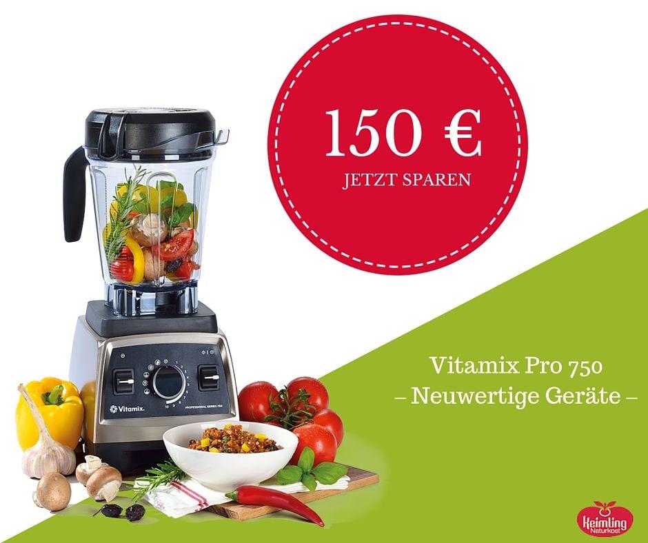 Du willst ihn, du bekommst ihn - jetzt sogar 150 Euro günstiger, aber nur solange der Vorrat reicht! Sei schnell: Wir haben nur 51 Stück. Wir verkaufen die neuwertigen Geräte aus Kundenretouren zum Vorteilspreis für nur 749 Euro und geben dir volle 7 Jahre Garantie. Nutze deine Chance und sichere dir jetzt deinen Vitamix Pro 75  #rohkost #rohvegan #vitamix #vitamixpro750 #keimlingnaturkost #foodtipp #vegan #veganlifestyle #smoothie #smoothies