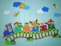 Risultati immagini per lavoretti accoglienza scuola dell for Idee per cartelloni scuola infanzia