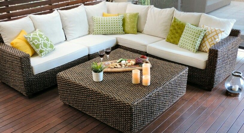 Hyacinth Corner Lounge Outdoor Patio Envy Patio Style Outdoor