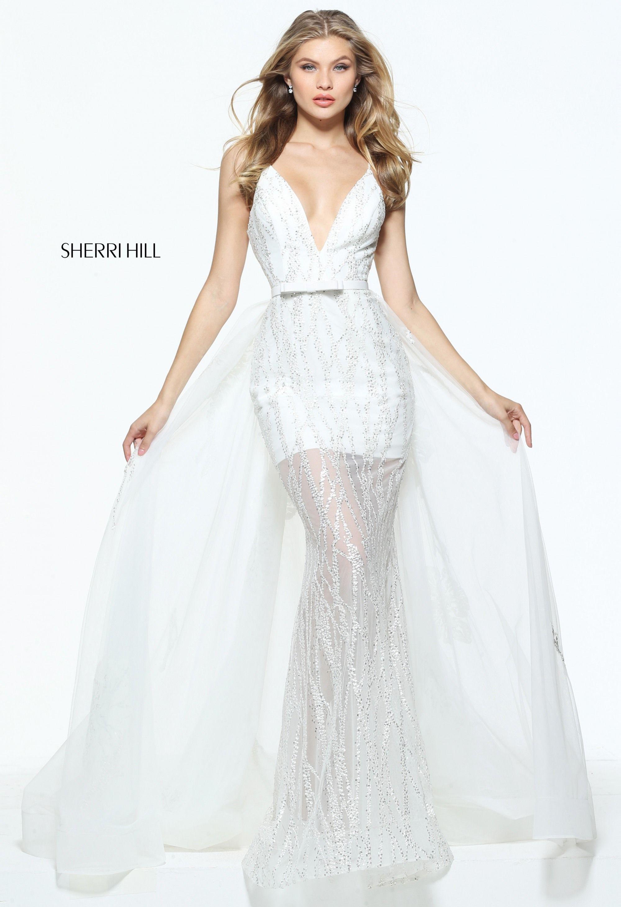 Sherri hill prom dress my style pinterest horsehair