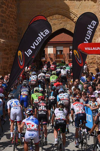Tour of Spain 2016 Stage 8 Start Villalpando La Camperona / Tim de Waele