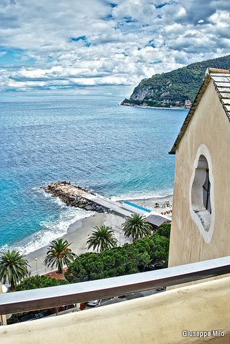 View From Hotel Il Vescovado Noli Liguria Italia Liguria