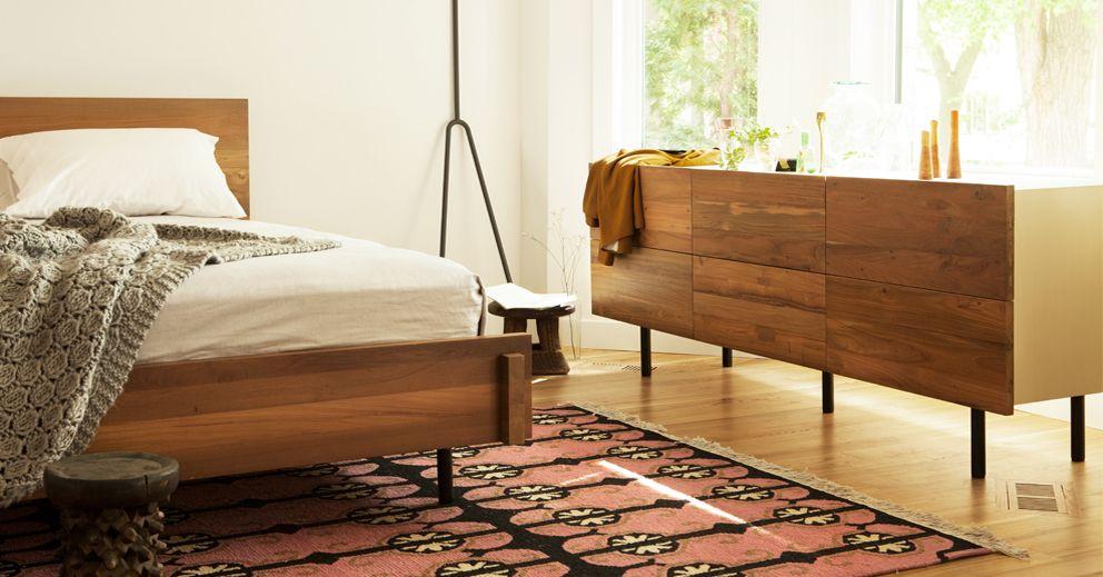 Reclaimed Teak Bed | EQ3 Modern Furniture | HOME DECOR, PAINT ...