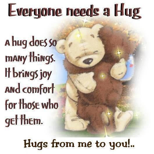 Happy Quotes Everybody Needs A Hug Pictures Photos And Images