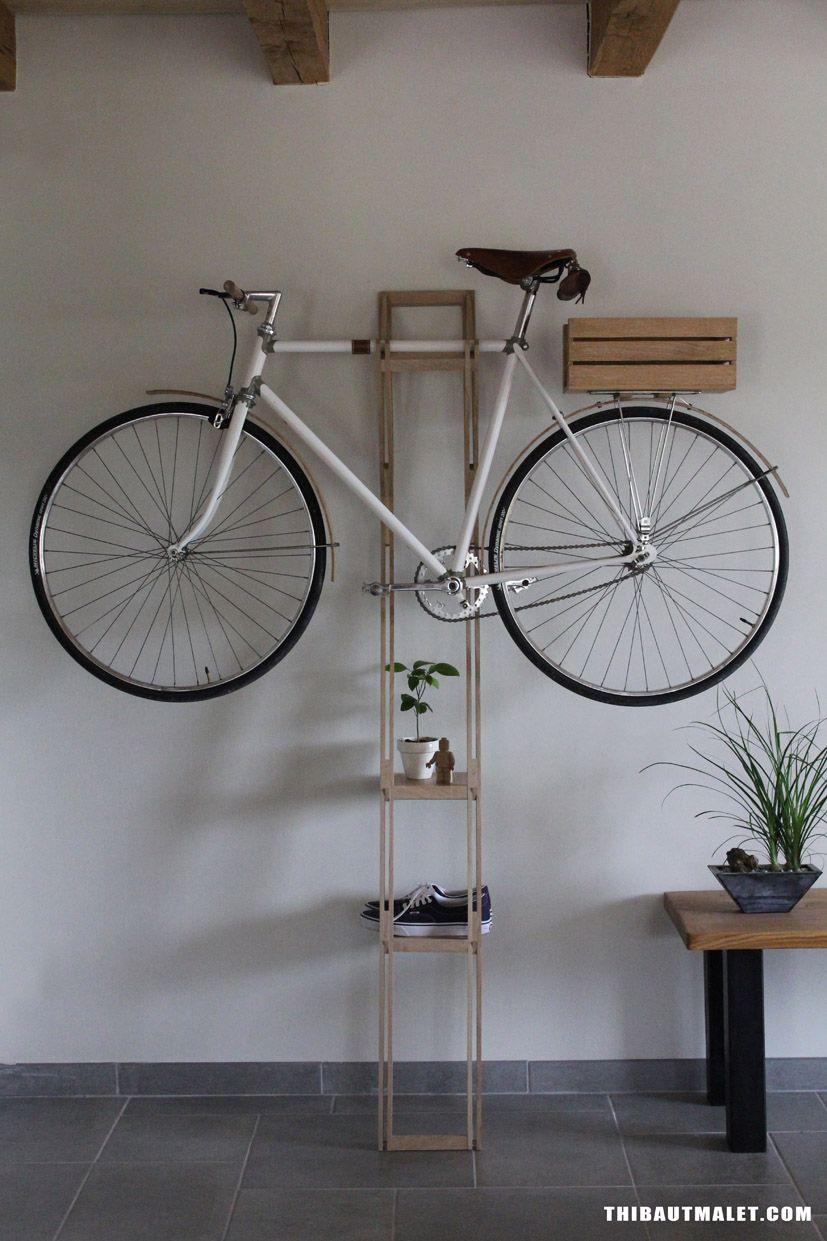 Thibaut malet bike hanger radaufh ngung pinterest - Wandhalterung rennrad ...