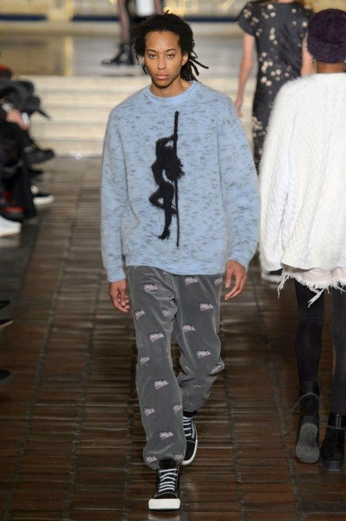 Alexander Wang Channels Teen Goths for His 2016 Fall Collection