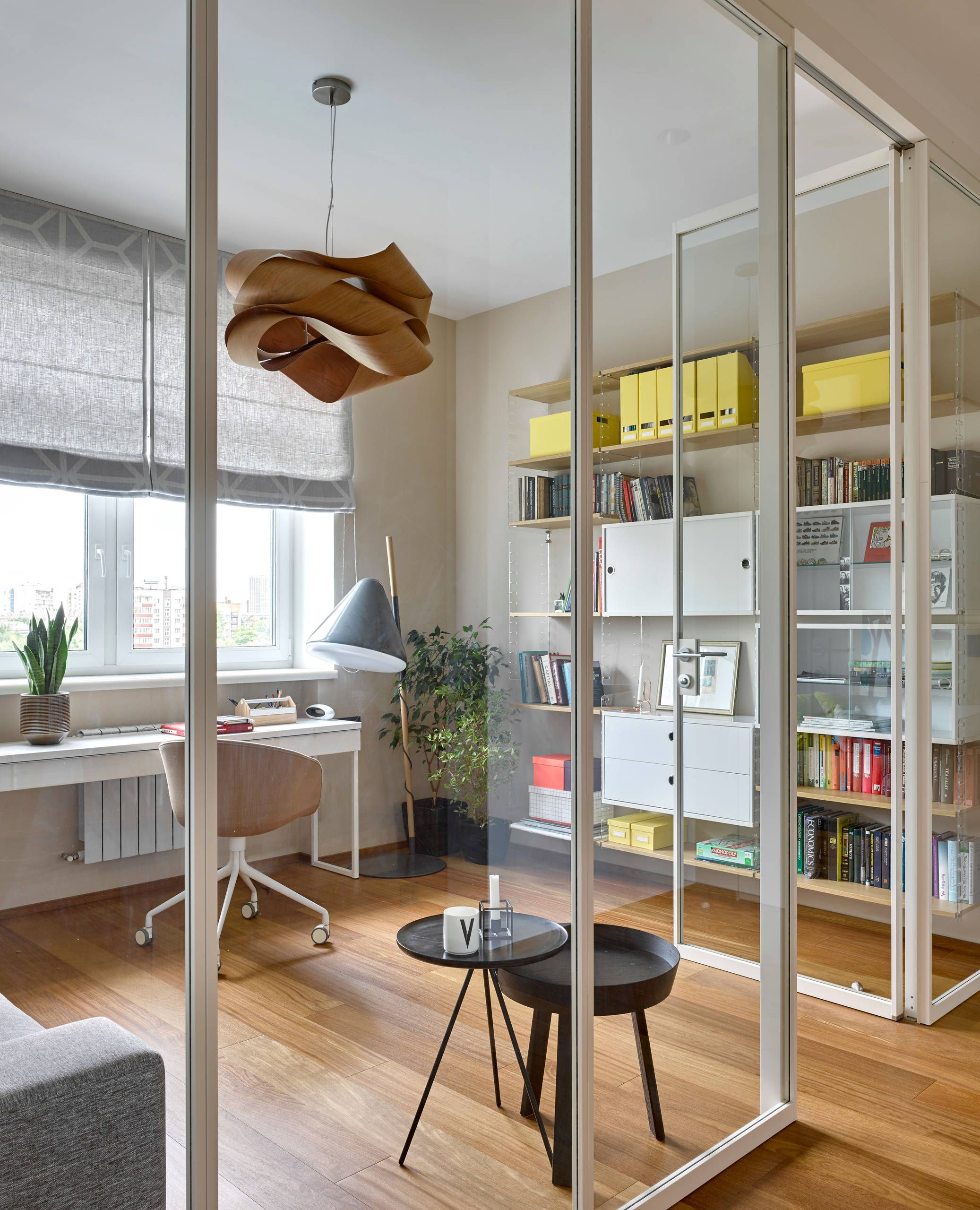 Scandinavian Home Office - Houzz