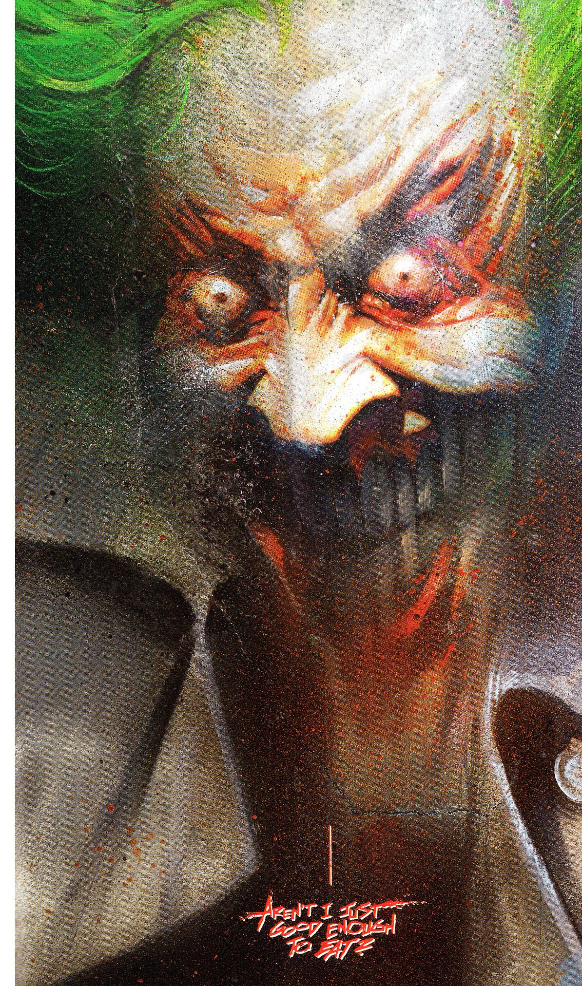 Batman Arkham Asylum Art By Dave Mckean Words By Grant