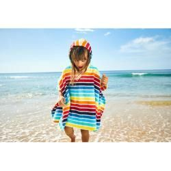 Frottee-Bade-Poncho, bunt, Gr. 128/146 Jako-O #ponchodress