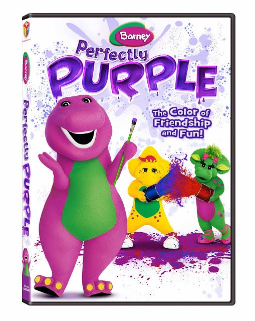 Giveaway 2013 Holiday Gift Guide Barney Perfectly Purple Dvd Giveaway Barney Kids Dvd Barney The Dinosaurs
