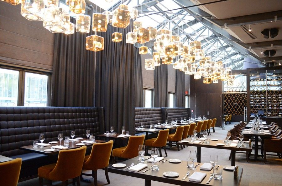 12 Toronto Restaurants For Your Upcoming Office Holiday Party Restaurant Lounge Bar Design Restaurant Restaurant Interior Design