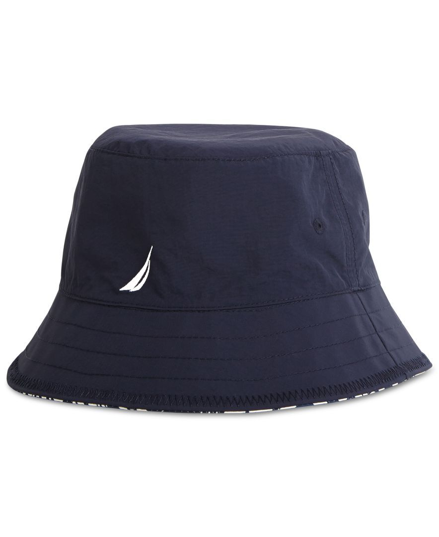 1767de326f51c Nautica Reversible Printed Bucket Hat Hats Online