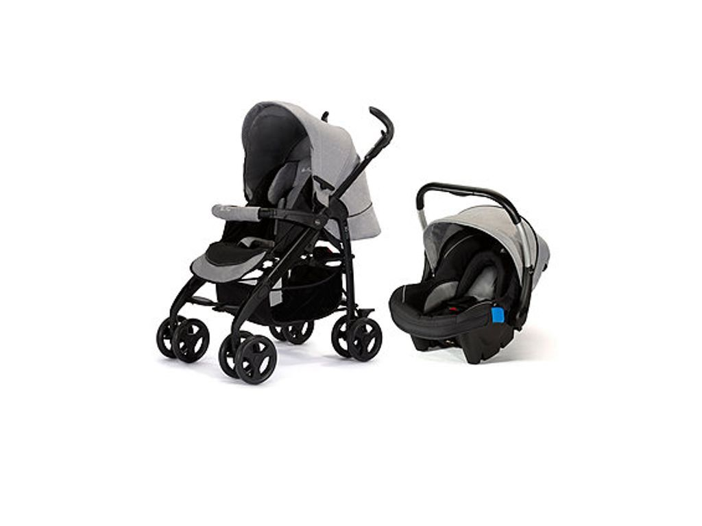 Oyster Double Pram Mothercare Silver Cross 3d Pram Pushchair Travel System Grey