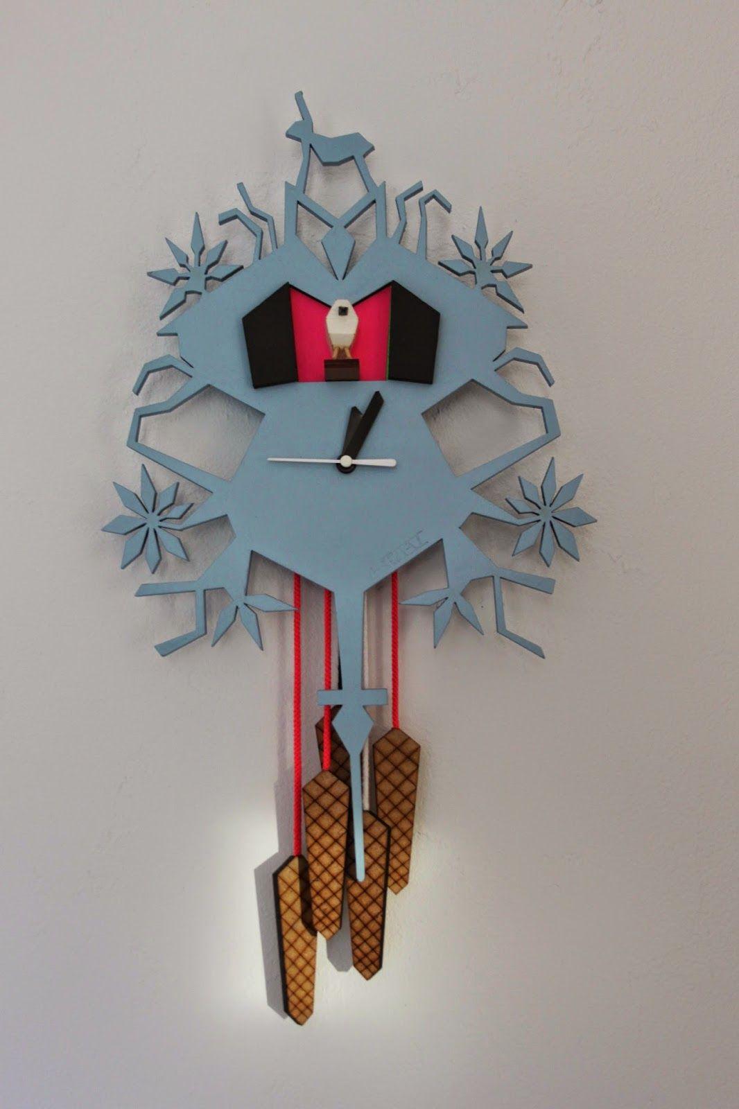 LA THEORIE DE L\'ARTICHAUT: Horloges inspiration coucou Suisse ...