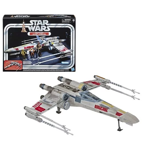 Star Wars The Vintage Collection Luke Skywalker Red 5 X Wing Fighter 3 3 4 Inch Scale Vehicle Exclusive X Wing Fighter Classic Star Wars Vintage Collection