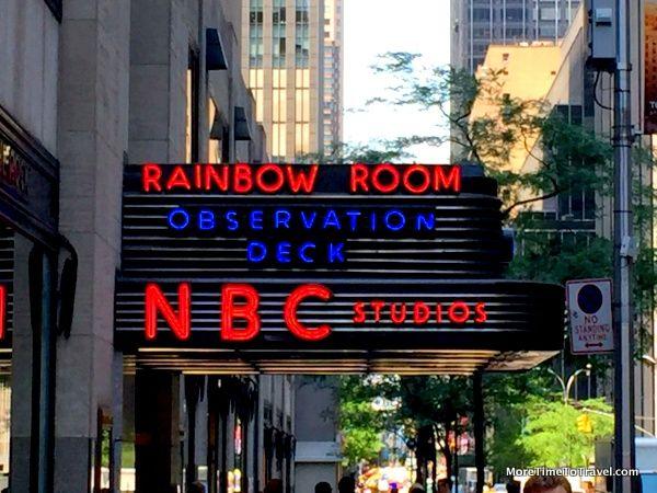 Nbc Studios At Rockefeller Center More Time To Travel Rockefeller Center Tours Center