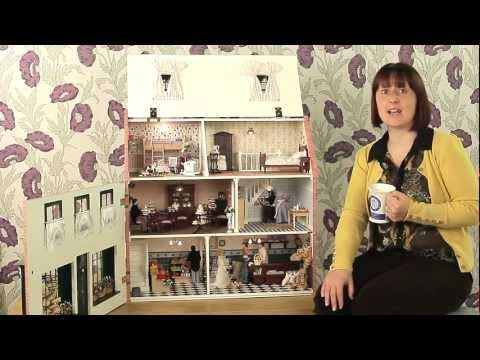 Magpies Dolls' house redecorated for 2012