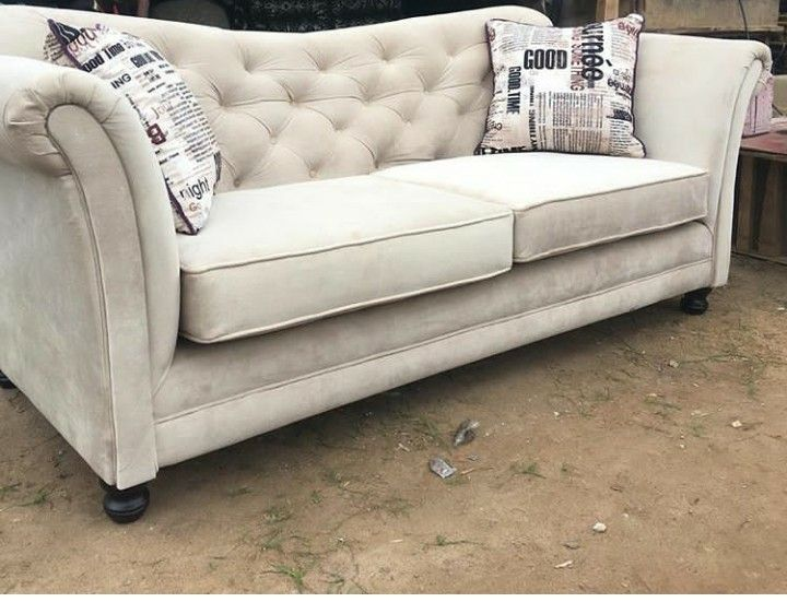 Beige Tufted Sofa On Sale Price 150 000 For More Enquiries Please