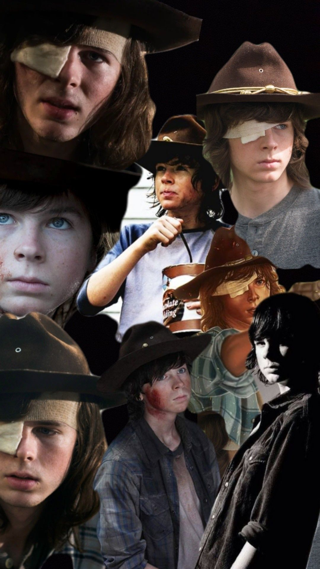Pin By Gabi On Crush The Walking Dead Walking Chandler Riggs