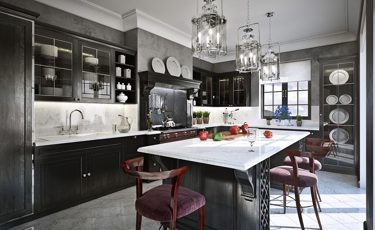 Why You Must Absolutely Paint Your Walls Gray  Httpfreshome Endearing 2 Wall Kitchen Designs Review