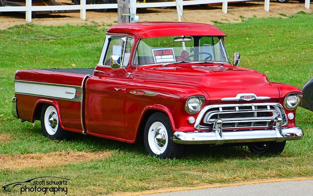 1957 Chevy 3124 Cameo Flickr Photo Sharing 57 Chevy Trucks Chevy Pickup Trucks Classic Chevy Trucks