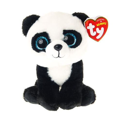 Petite peluche ty beanie boos ming le panda knuffels - Animaux a gros yeux ...