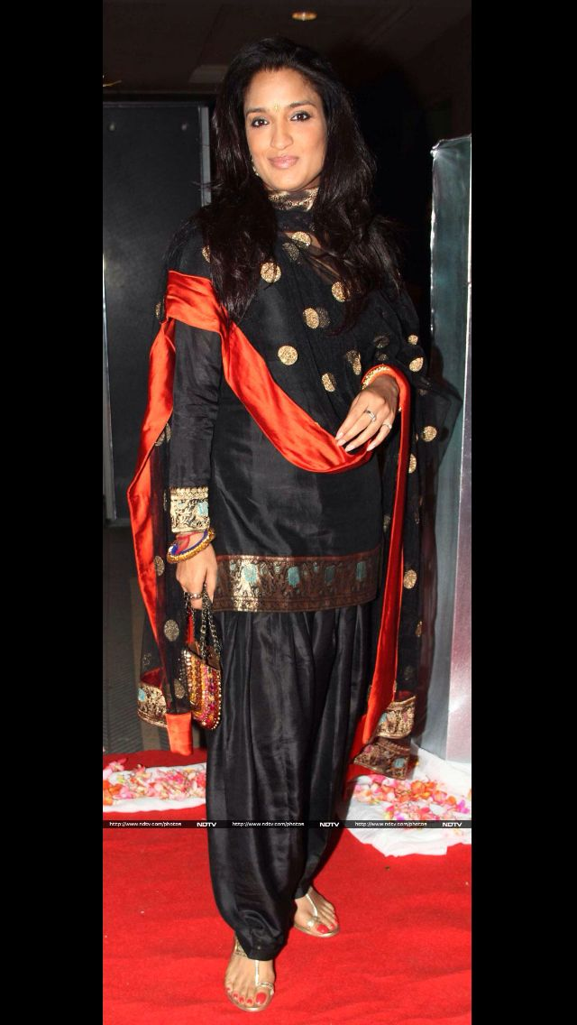 Love patiala suit but not black & if full sleeve it should be ...