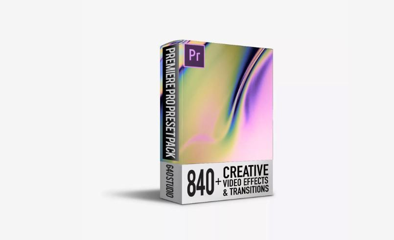640 Studio-840+ Transitions Pack For Premiere Pro Free Download
