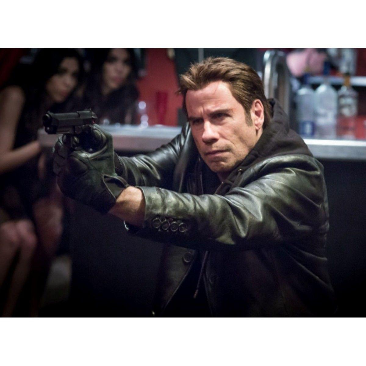I am Wrath John Travolta Black High Quality Leather Jacket