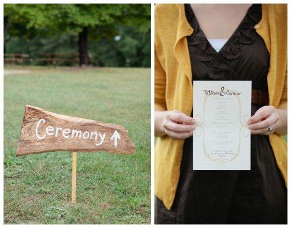 Country wedding sign from rusticweddingchic.com