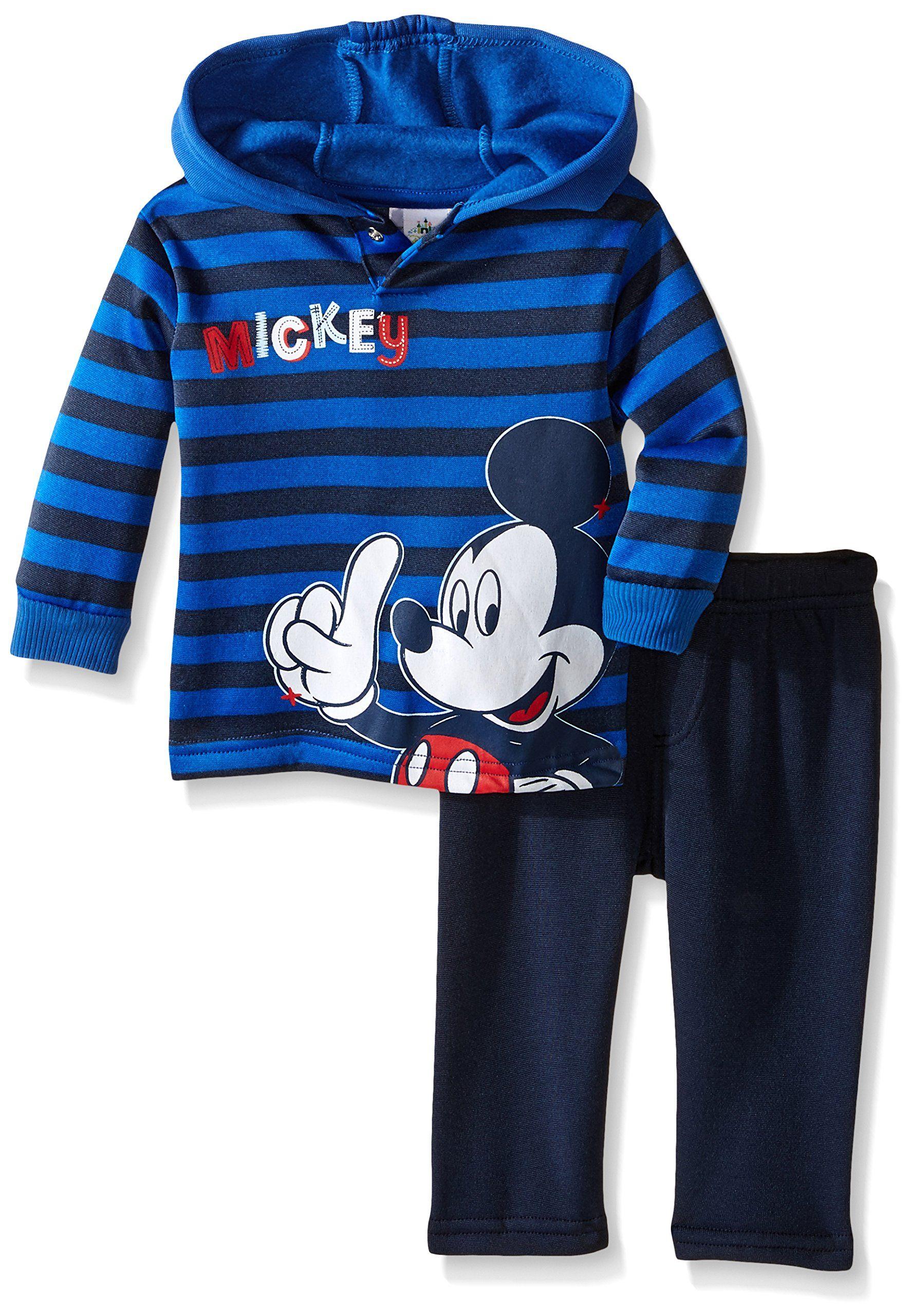 1be4b7bb1278 Disney Baby-Boys Newborn 2 Piece Mickey Fleece Set