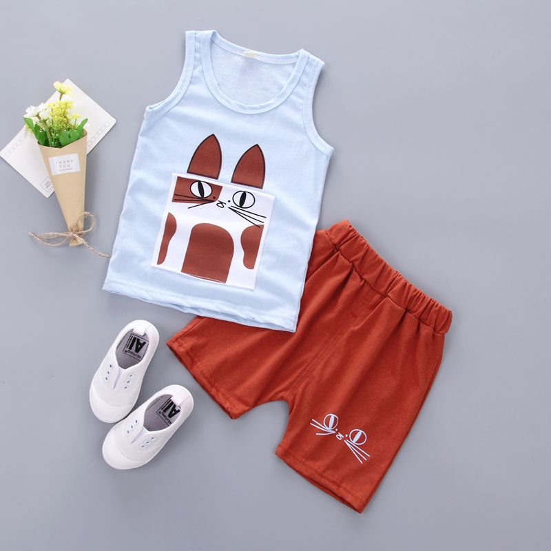 d061b25913b Kyne summer boysclothing set toddler children sport suit set 2Pcs lattice  gentleman tracksuit kids boys summer