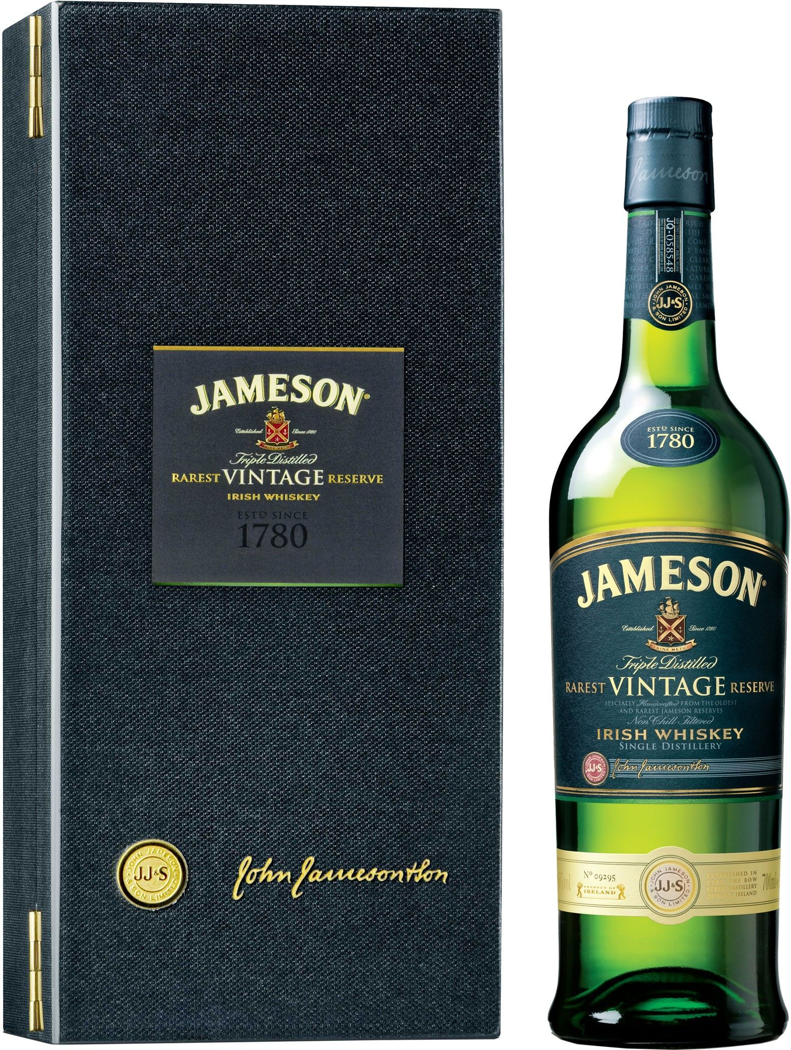 Jameson Rarest Vintage Reserve Irish Whiskey Caskers Jameson Irish Whiskey Irish Whiskey Whiskey