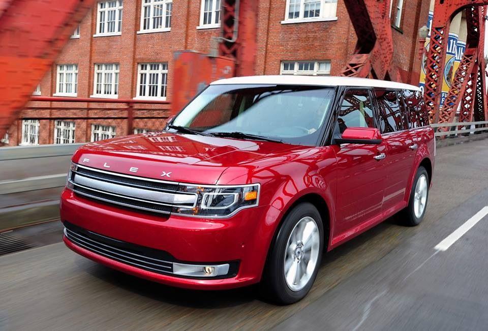 Ford Flex Red Ford Flex Ford Car Ford