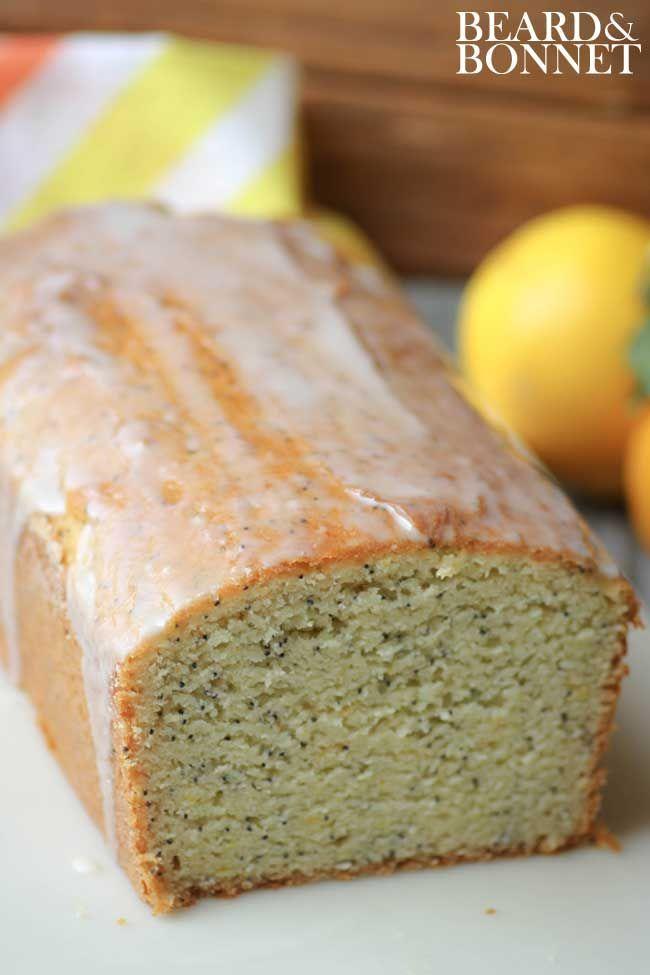 Meyer Lemon Poppy Seed Quick Bread Foods With Gluten Lemon