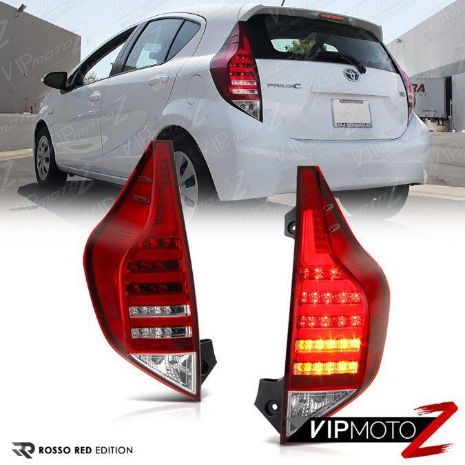 2012 2013 2014 2015 Toyota Aqua Nhp10 Prius C Red Led Smd Signal