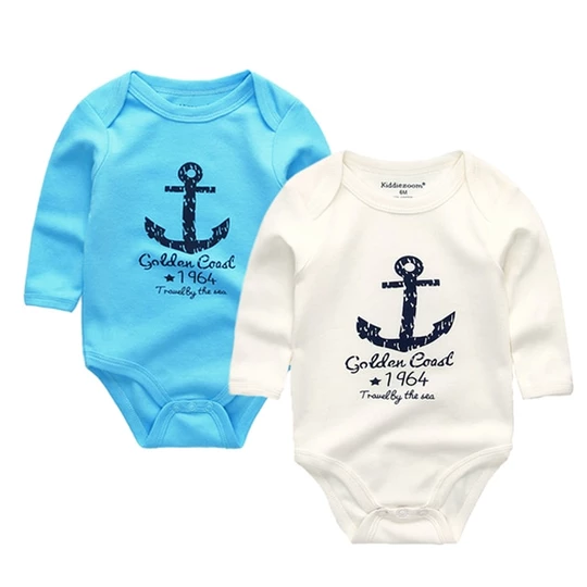 Sailboat in The Sea Newborn Baby Bodysuit Long Sleeve Overalls Outfits Clothes Romper Jumpsuit for Baby Boy Girl