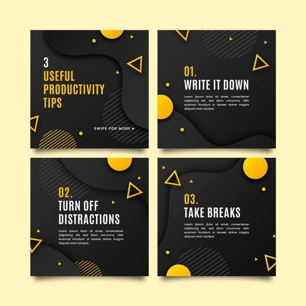 Social Media Post Design Templates Pack